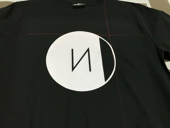 T-Shirt Logo Kundenauftrag